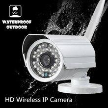 Wireless IP Camera Onvif support nvr WIFI Megapixel 720p HD Outdoor Security CCTV Cam IR Infrared SD Card P2P Bullet waterproof