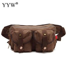 Men's Packs Hip Canvas