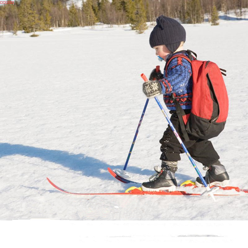 Factory Direct Sale Children Snow Skis and Poles Glass Fiber Sled font b Snowboard b font