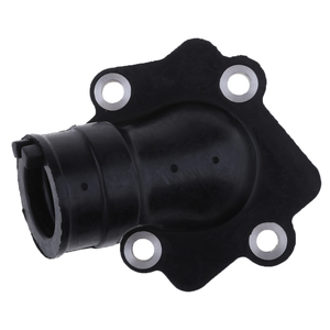 Image 5 - 1 Pcs Motorcycle Carburetor Air Joint Boot Interface Adapter Connector Pipe Intake Manifold For Yamaha 50/90cc 2 Stroke Engine
