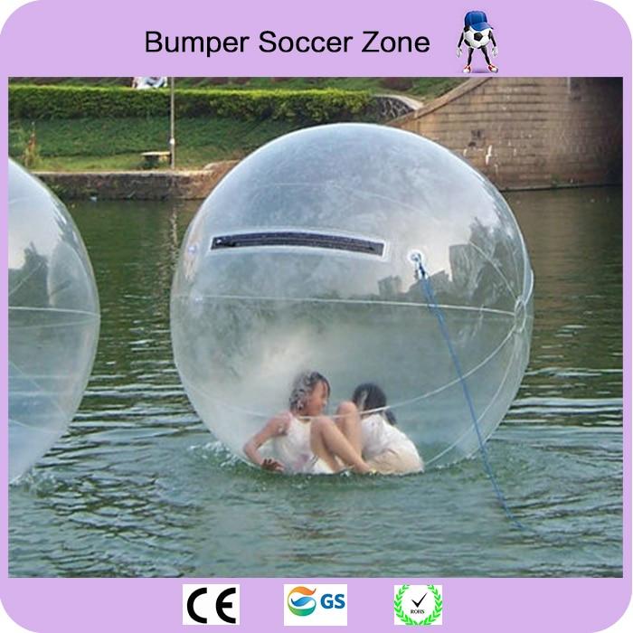 Gratis Verzending 2 m Water Bubble Bal Opblaasbare Water Lopen Bal Water Ballonnen Ballen Giant Opblaasbare Anti Stress Bal - 3