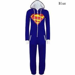 Winter unisex pyjamas superman bat man solid hooded onesies for adults sleepwear women men pajama superhero.jpg 250x250