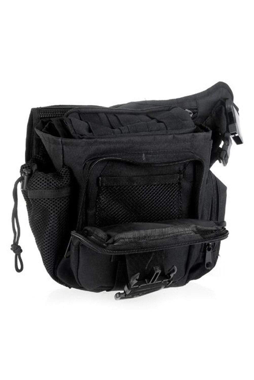 5 X 600D Nylon Molle Shoulder Strap Bag Push Pack Belt Pouch Travel Bag Camera Money Utility Bag Black парафин oneball x wax 5 pack assorted