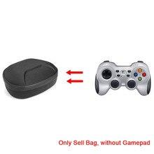 Estojo de eva protetor para controle de gamepad, bolsa de armazenamento para logitech f710, sem fio, com bluetooth, alça de proteção para controle de gamepad