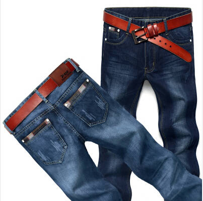 Hot Sale!Summer Style Men's Jeans Straight Fit Classic Denim