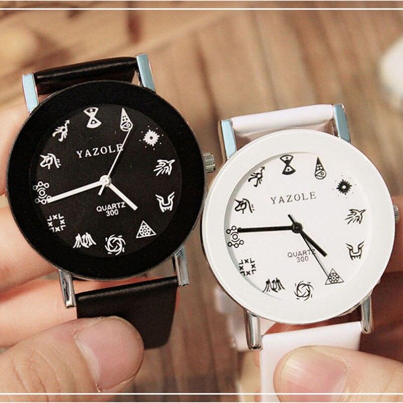 Minimalist Couple Watch Fashion Black&White Lovers Watches Women Men Watches Ladies Watches Clock reloj hombre erkek kol saati