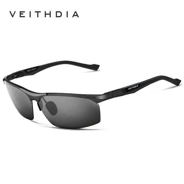 2017 fashion original Aluminum Magnesium Sunglasses Polarized Sports Men Mirror Driving Sun Glasses oculos Male Accessories 6589