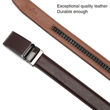 Classic Automatic Buckle Leather Belt