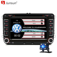 Junsun 2 Din 7 Car DVD Radio Player For Skoda Fabia Praktic Roomster Octavia Yeti Audio
