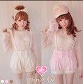 Princess sweet lolita BOBON21 Exclusive original design Wool cloth with soft nap  Pumpkin suspenders Straps detachable  B1119