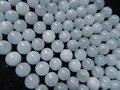 Freeshipping atacado natural 11.5-12mm Brasileiro aquamarine rodada beads gem pedra para fazer jóias