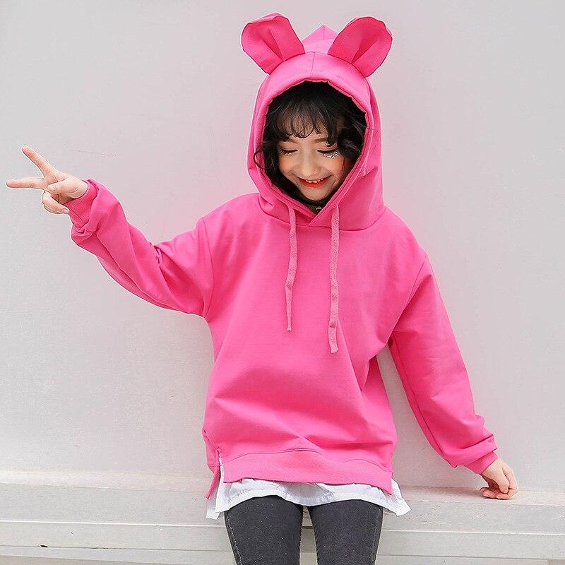 2018 Teenage Girls Christmas Clothing Toddler Girls Sweatshirts Kids Baby Girl Cotton Hoodie Sweatshirt Pullover Tops 10 12 Year