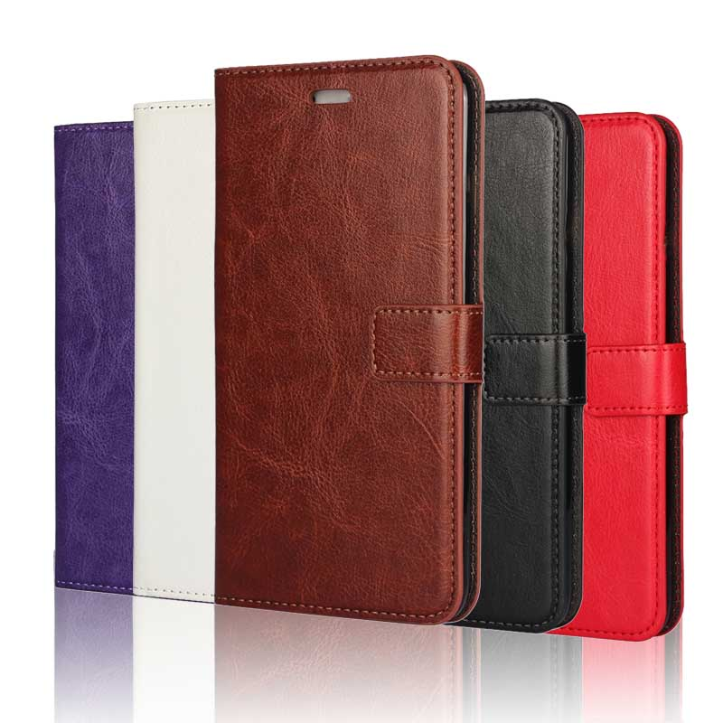 Flip Wallet Phone Bag Case for iPhone 7 6 6s Plus 5s 5 SE 4 4s Cover for Samsung Galaxy J1 J2 J3 J5 J7 2016 Core 2 7s PU Leather