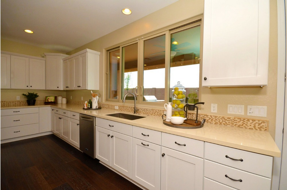 っ2017 ventas calientes gabinetes de cocina de color blanco moderno ...