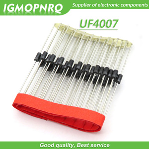100PCS SMD US1M UF4007 1A/1000V DIP SMA fast recovery diode rectifier New Original