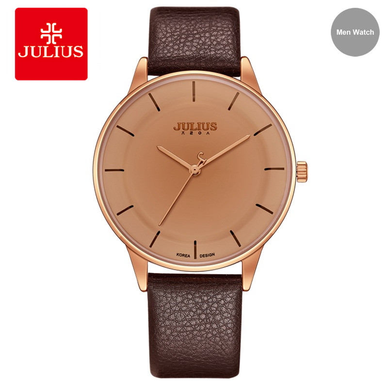 Фото Julius High Quality Retro Quartz Watch Women Waterproof Simple Leather Watches Brand Female Clock Fashion Wristwatch JA-957N