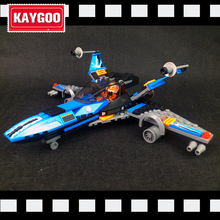 Kaygoo Compatible 05029 05004 Star Series Space War Poe's X-wing Fighter building blocks X wing Toys