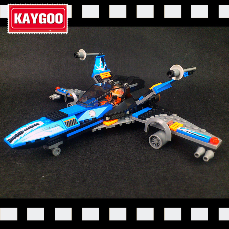 Kaygoo Compatible lepin 05029 05004 Star Series Space War  Poe's X-wing Fighter building blocks X wing  Toys lepin 05040 y attack starfighter wing building block assembled brick star series war toys compatible with 10134 educational gift