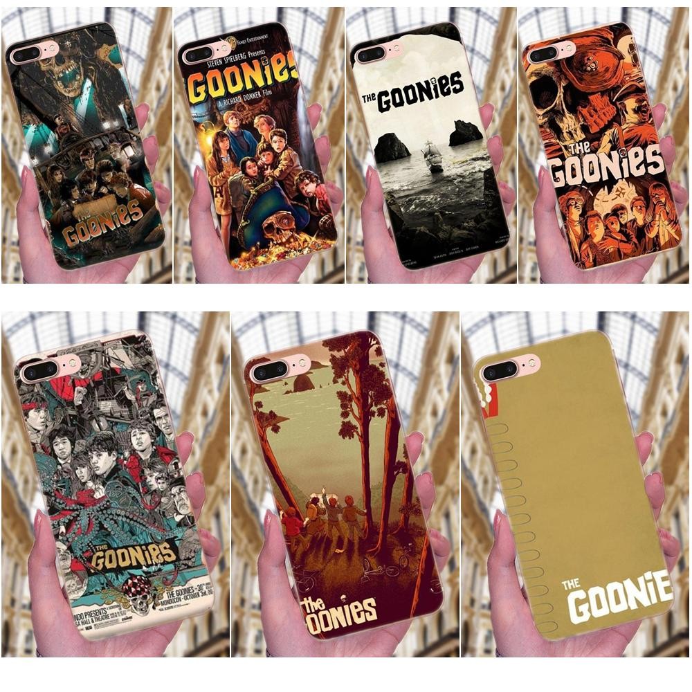 Goonies Posters Smart For <font><b>Sony</b></font> <font><b>Xperia</b></font> Z Z1 Z2 Z3 Z4 Z5 compact Mini M2 M4 M5 T3 <font><b>E3</b></font> E5 XA XA1 XZ Premium Novelty <font><b>Phone</b></font> <font><b>Case</b></font> Cover image