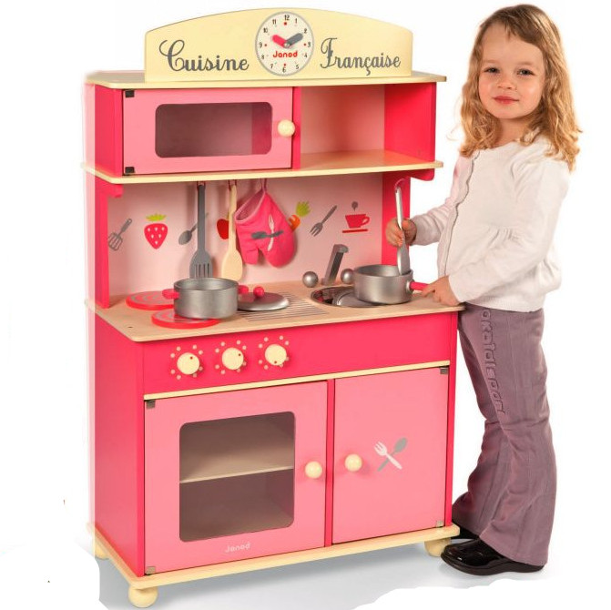 Kitchen Counters On Toys: Luxury Janod Ultra High Kitchen Countertops Princess