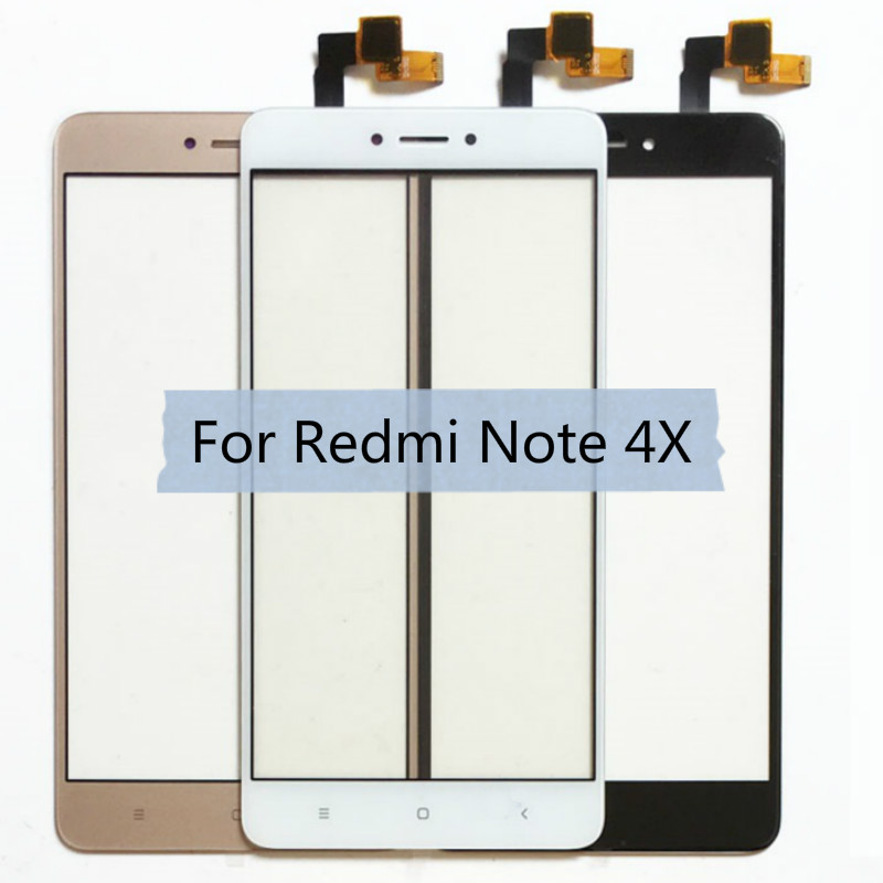For Xiaomi Redmi Note 4 4X LCD Display Touch Screen Front Glass Sensor Digitizer Note4 Note4X Phone Replacement Spare Parts