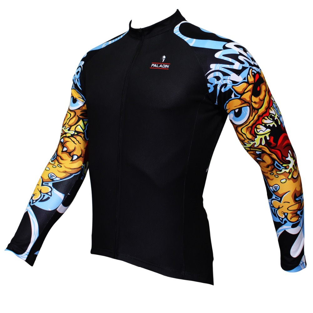 Dog pound arm bicycle bike cycling jersey cycle clothing for Shirts for men with long arms