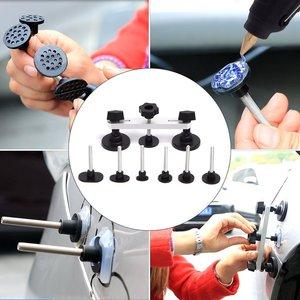 car tools Paintless Hail Removal Dent Lifter T-Bar PDR Tools Glue Gun Car Body Repair Kit набор инструментов