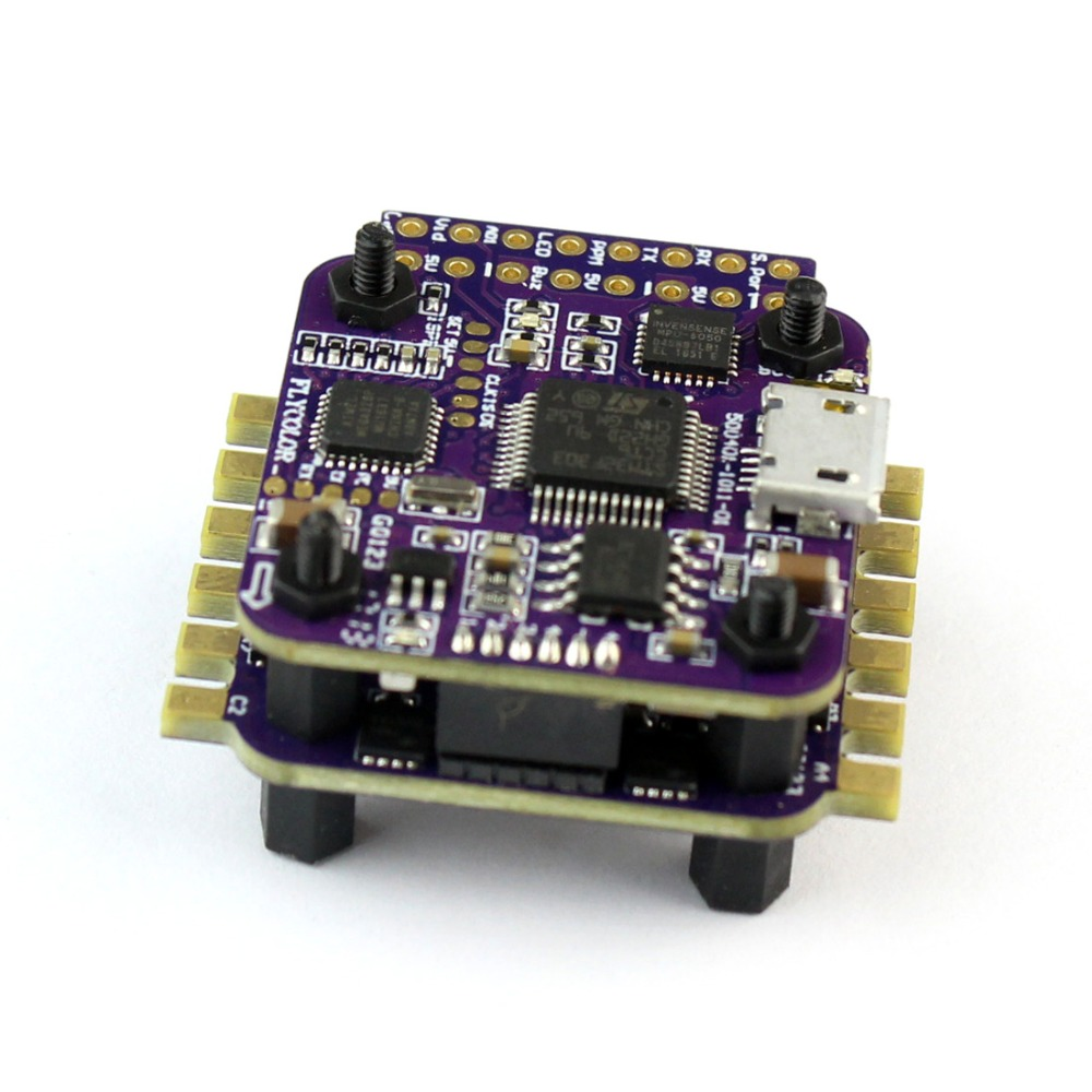 Feichao Flycolor Raptor S-Tower 4 in 1 2-3S 12A BLHeli-S ESC Speed Controller  with OSD for RC Mini Drone  nils master raptor 75mm 12g 004 s s
