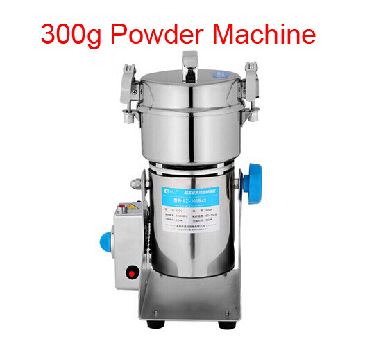 High Quality 300g Swing type stainless steel electric medicine grinder powder machine ultrafine grinding mill machine high quantity medicine detection type blood and marrow test slides