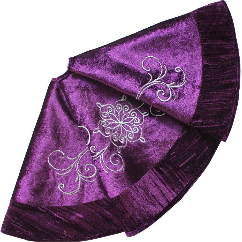 Purple Tree Skirt 50