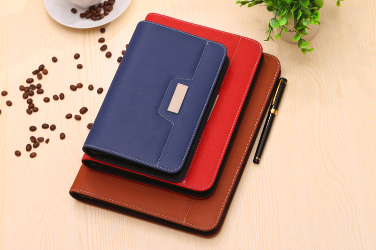 2pcs/lot Leather Binder Notebook A5 B5 A4 Spiral Zipper Journal Planner Organizer Agenda Loose leaf business book mirui small fresh loose leaf notebook korea simple b5 coil detachable refill student notebook a5 book a4