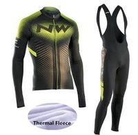2018 Winter Thermal Fleece Long Sleeves NW Cycling Jerseys Ropa Maillot Ciclismo Bicycle Bike Cycling Clothing
