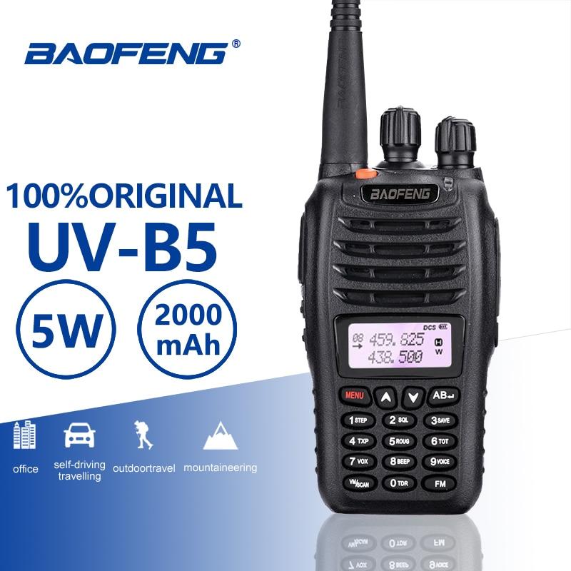 BaoFeng UV-B5 Walkie Talkie New Hot Sell UV B5 Dual Band Vhf 136-174MHz&Uhf 400-470 MHz Small Mini LCD Screen UVB5 Two Way Radio