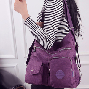 Image 5 - Women Shoulder Bags Waterproof Nylon Lady Sling Messenger Bag Female Tote Crossbody Bags For Women Handbag