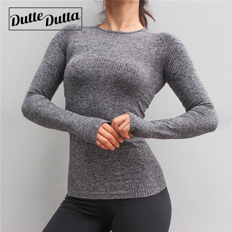 Women's Sports Wear For Fitness Women Jersey Seamless Long Sleeve Gym Woman Sport Shirt Yoga Top Female Workout Tops T-shirt