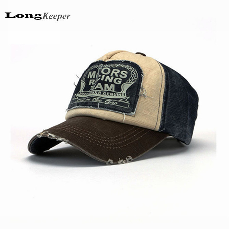 Cool Snapback Hats: Retro Cool Distressed Wearing Baseball Cap Brand Snapback