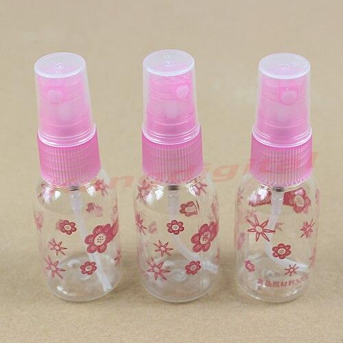 2pcs/lot 30ML Empty Plastic Transparent Perfumes