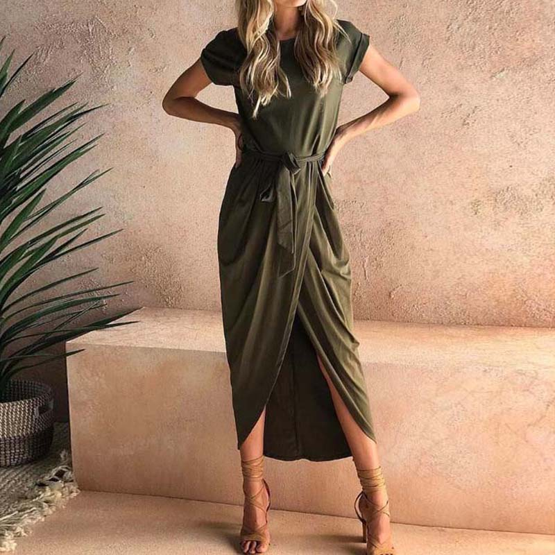 19 Plus Size Party Dresses Women Summer Long Maxi Dress Casual Slim Elegant Dress Bodycon Female Beach Dresses For Women 3xl 10
