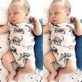 Новорожденный Ребенок Девочка Мальчик Одежда Динозавров Хлопок Боди Наряды Женский Пляжный Костюм