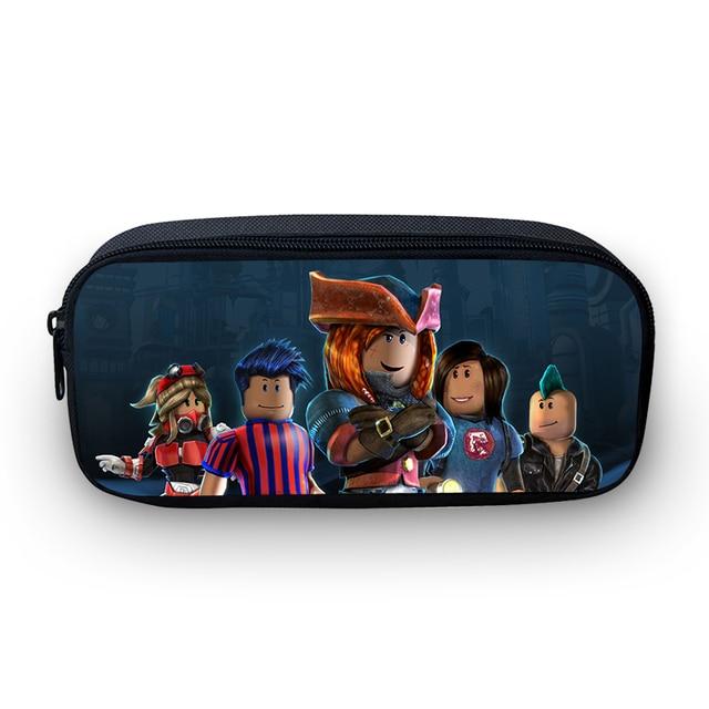 c4ad1dcc39d6f VEEVANV Hot Cartoon Anime Roblox Backpacks pencil bag Kids Children Pouch  Pen Holder Pencil School