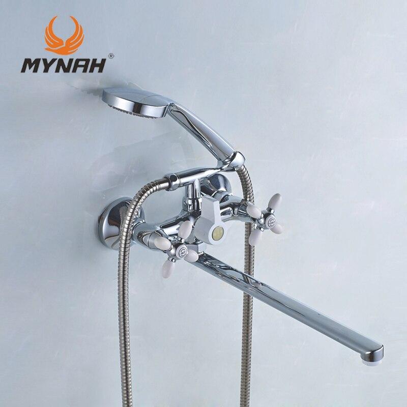 MAINATE Russie livraison gratuite classique robinet de douche salle de bains robinet double contrôle multi couleur sélection