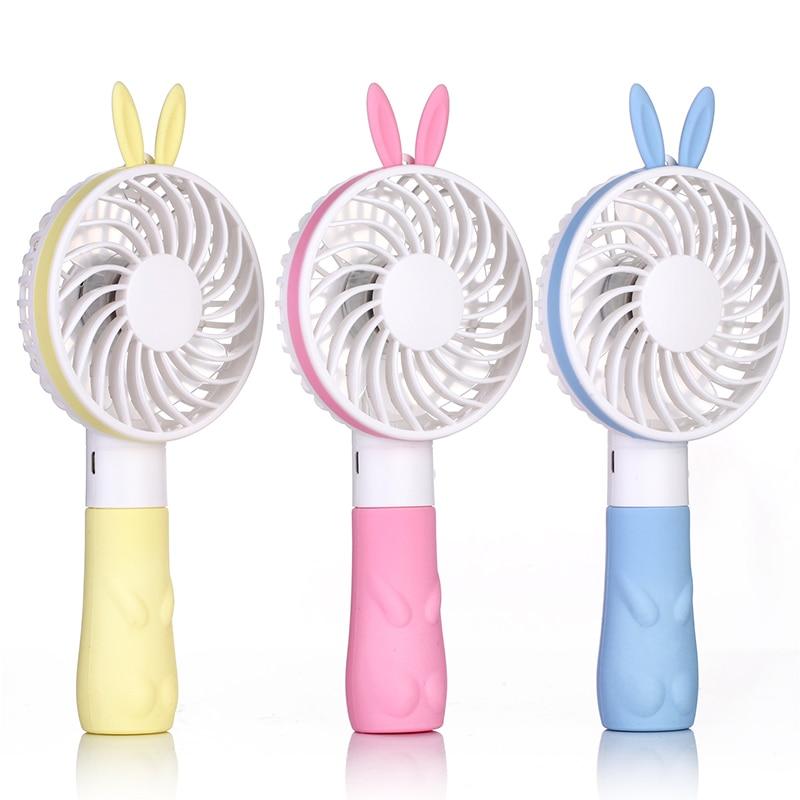 Very Small Personal Fans : Year very hot sale cute rabbit mini handheld fan