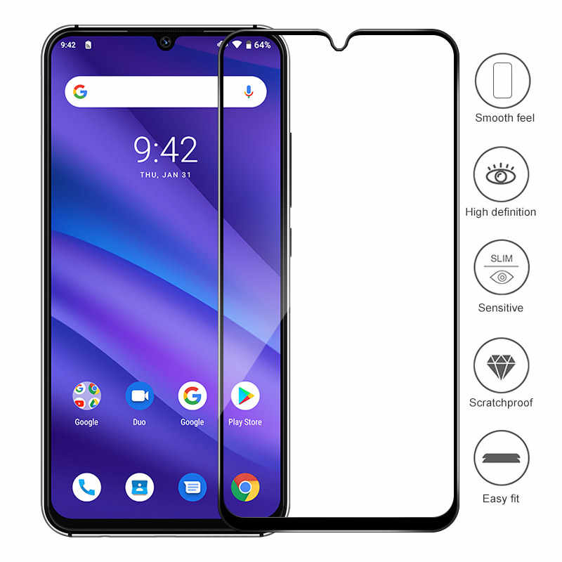 "Full Cover Termpered Glass For UMIDIGI A5 Pro Screen Protector Cover Explosion-proof Case Film Capa For UMIDIGI A5 Pro 6.3"" 2019"