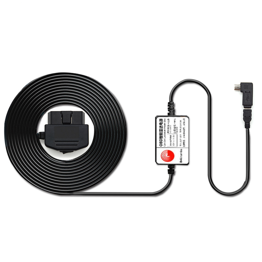OBD Stromleitung Auto Kamera Dashcam Radarwarner Kabel Mini ...