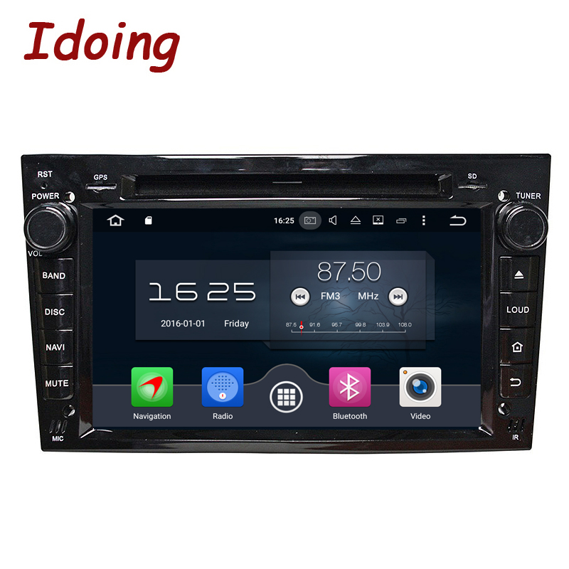 idoing 2din car radio for opel astra h car gps navigation. Black Bedroom Furniture Sets. Home Design Ideas