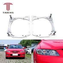 Taochis Auto-Styling cornice modulo adattatore FAI DA TE Staffa Del Supporto per Mazda 6 Hella 3 5 lente Del Proiettore