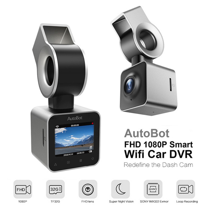 AutoBot G Mini Car Camera Wifi Car DVR Dashcam Video Recorder Blackbox Novatek 96658 IMX323 1.5''LCD Night Vision FHD 1080P WDR