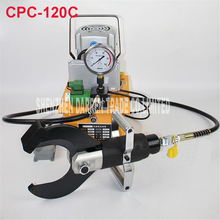 CPC-120C  electric hydraulic cable cutter cut 120MM  shielded cable Electric hydraulic cable scissors cpc 22a hydraulic steel shears hydraulic steel cutters steel scissors steel clamps cut 22mm hydraulic cutting tools
