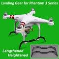Phantom 3 Удлиняется Повышенной Шасси Посадка Skid для DJI Phantom 3