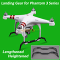 Phantom 3 Alongado Aumentado de Pouso Landing Skid para DJI Fantasma 3